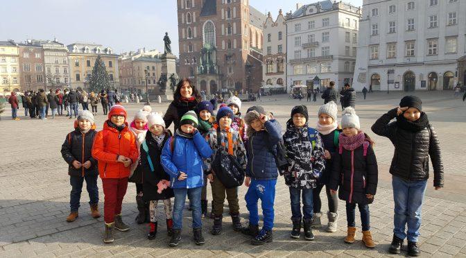 Wycieczka klasy 1 i 2 do Teatru Groteska w Krakowie