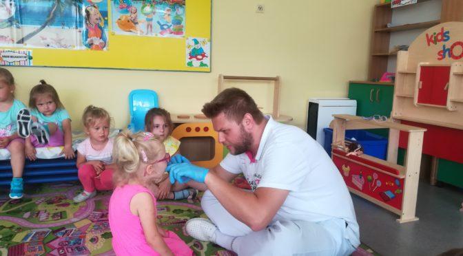 Wizyta stomatologa w naszym przedszkolu